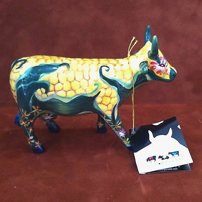 COW PARADE ~ #7335 ~ CORN ON THE COW ~ Westland 2004 Figurine ~ RETIRED In Box