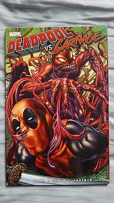 Deadpool Vs Carnage Graphic Novel 2014 Great Condition Marvel Comics