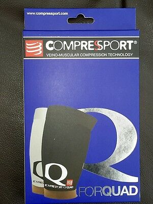 compressport Compression thigh/quad guard size T3 upper quad 57-67 lower 39-45