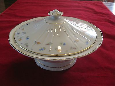 """Syracuse China Federal Shape Suzanne 9"""" Covered Vegetable Bowl in Excellent Cond"""