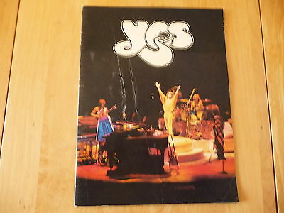 """Yes:«The TORMATO US Tour» Official Program 1979 USTour book 12""""x 9¼"""" 18pages"""