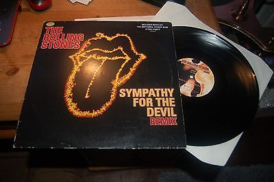 "11658 Rolling Stones Sympathy For The Devil 12"" Buy 5 LP's For £6 Postage UK"