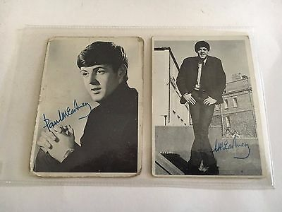 1964 BEATLES TRADING CARDS  1st   SERIES # 27 & 3