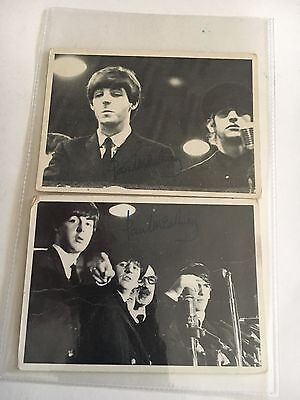 1964 BEATLES TRADING CARDS 2nd  SERIES #71 & 78
