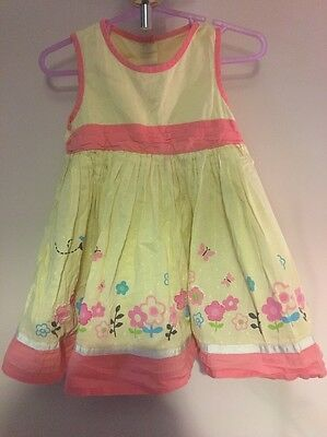 Girls Summer Dress From George Age 9-12 Months