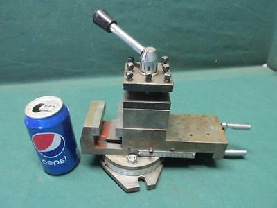 Nice Smithy Lathe Milling Machine Mill Combo 3 in 1 Cross Slide Tool Post Vise