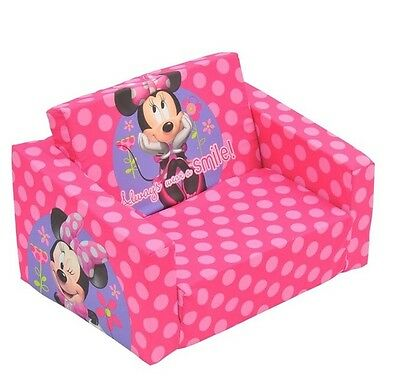 New Kids Toddler Flip out sofa Disney minnie Mouse Day Bed Flipout Chair
