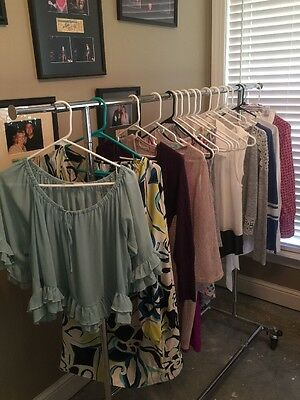 Huge LOT Of 17 Tops & Dresses! Some Boutique. Karle,Gap,UMGEE Etc! Size Medium