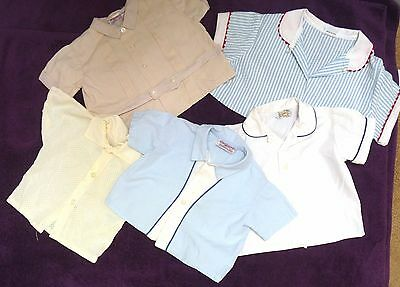 Lot of 5 VINTAGE Tops for Little Toddler Boys from 1960s