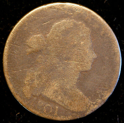 1801 S-224  Draped Bust Large Cent