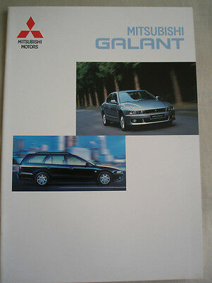 Mitsubishi Galant range brochure May 1999 German text