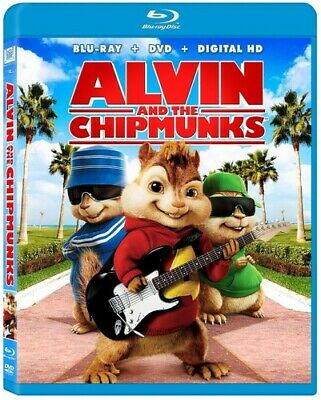 Alvin & the Chipmunks [New Blu-ray] Pan & Scan, With Movie Cash