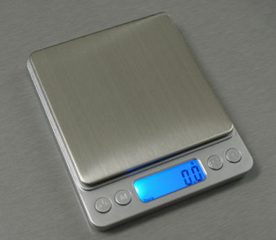 NEW Digital Scale 0.01g - 500g Wide Range Big Platform LCD Display