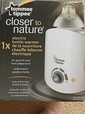 closer To Nature tommee tippee Electronic  bottle warmer