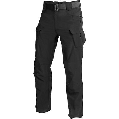 Helikon Outdoor Tactical Pants OTP Security Police Patrol Cargo Trousers Black
