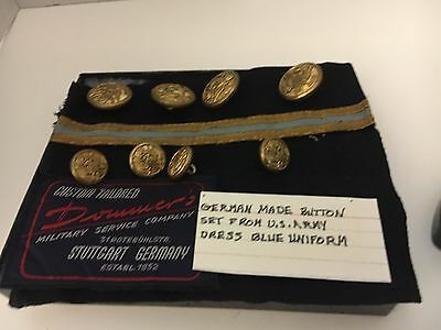 Us Army Buttons Made In Germany For Dress Blue Uniform