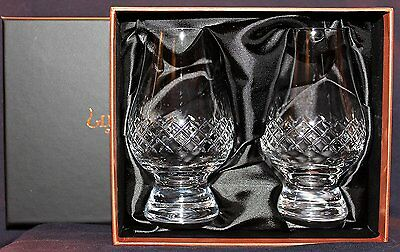 The Glencairn Diamond Cut Two Glass Boxed Set