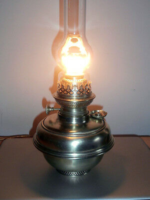 Very Very Rare Complete Working Wild & Wessel 18''' Search   Oil Lamp