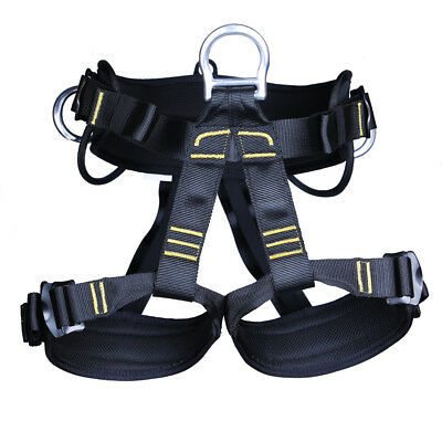 Rock Climbing Harness Tree Arborist Safety Belt Caving Abseiling Equipment
