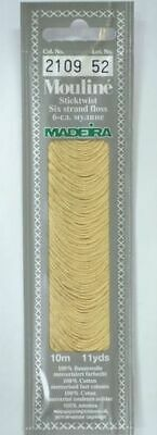 MADEIRA Mouline Stranded Cotton Embroidery Floss 10m Colour 2109