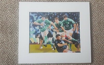 Ireland Rugby Print
