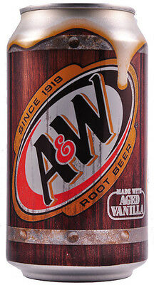 A & W Root Beer - 355ml Cans