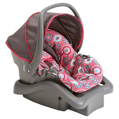 Cosco Light N Comfy DX Infant Car Seat in Posey Pop