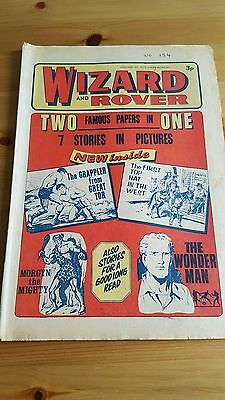 Wizard & Rover 1st Issue ( #154) 20.1. 1973 - The Grappler from Great Tor