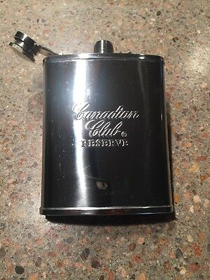 Canadian Club Stainless Steel Flask