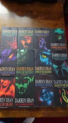The saga of Darren Shan books complete collection 1-12