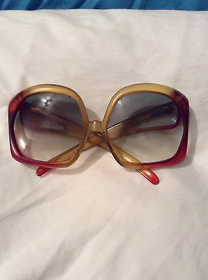 Vintage 1970s Christian Dior Sunglasses Model # 2005 Made In Germany Optyl