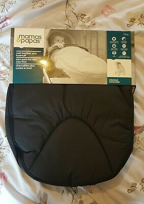 mamas and papas cold weather plus footmuff cosytoes BNWT