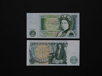 Great Britain 1 Pound P377  -   Quality Banknotes   * Excellent Unc *