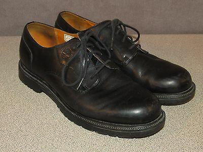 TIMBERLAND Waterproof Black Leather Oxford Shoes Men's 9.5 M