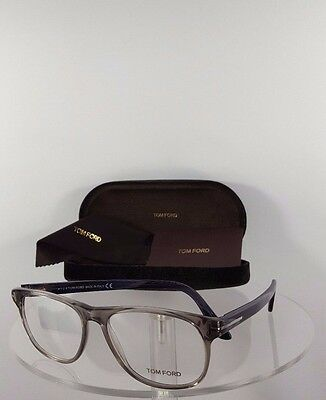 Brand New Authentic Tom Ford Eyeglasses TF FT 5362 020 Blue Grey Frame 5362