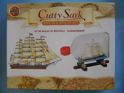 Cutty Sark. Ship In A Bottle Model Kit. Airfix