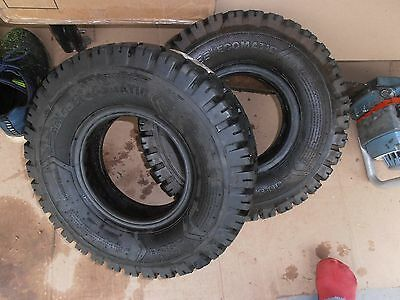 .   2  New Solideal Ecomatic Forklift Tires  5.00-8    50.70.69