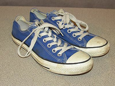 CONVERSE All Star Low Tops Shoes Women's Size 8 Blue