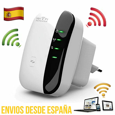 Repetidor Amplificador WIFI 802.11 N/B/G  Wireless Inalámbrico 300 mbps