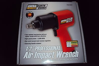 "Brand New Central Pneumatic 1/2"" Professional Air Impact Wrench 68424"