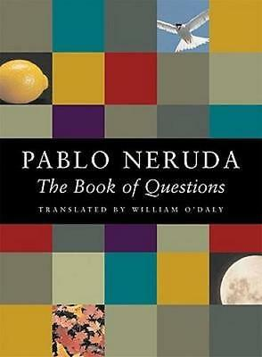 NEW The Book of Questions By Pablo Neruda Paperback Free Shipping