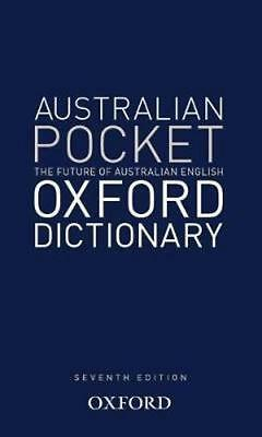 NEW Australian Pocket Oxford Dictionary By Oxford Dictionary Hardcover