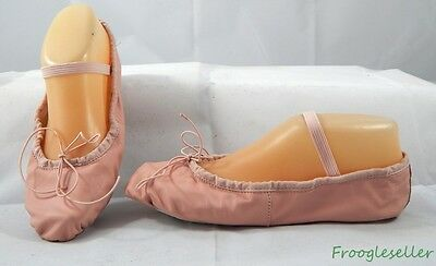 Leo's womens ballet flats slippers dancing shoes 6 E pink leather