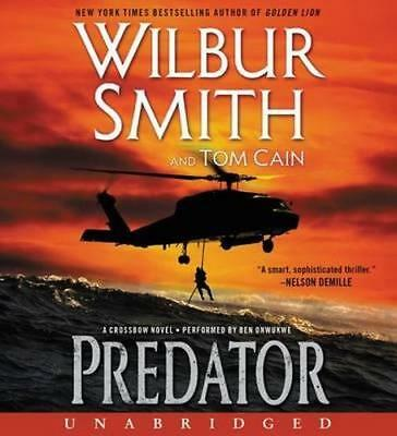 NEW Predator By Wilbur Smith Audio CD Free Shipping
