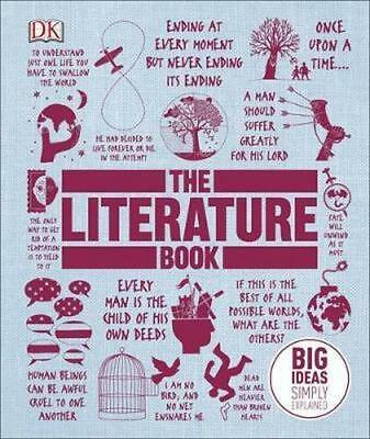NEW The Literature Book By DK Hardcover Free Shipping