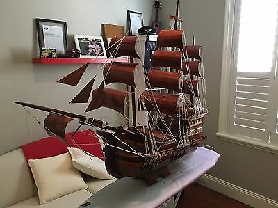 Handmade Wooden Ship - The Santa Maria