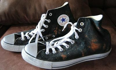 Converse sneakers tennis shoes Mens all star high top chuck taylor 9 1/2