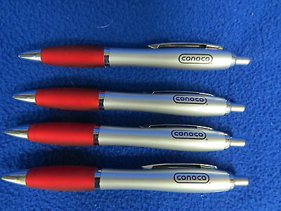 4 Conoco NEW Ink Pens gas station pump oil grease Chemicals Petroleum Company