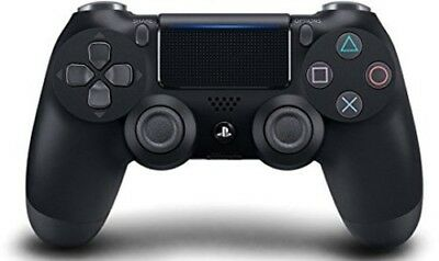 Sony DualShock 4 Controller: Jet Black for PlayStation 4 [New PS4] PS 4, Black