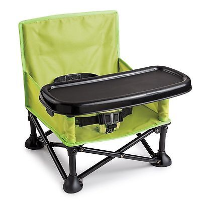Summer Infant Pop N' Sit Portable Booster Baby High Chair New